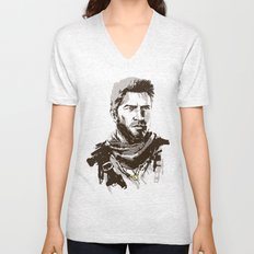 Uncharted 3 Unisex V-Neck
