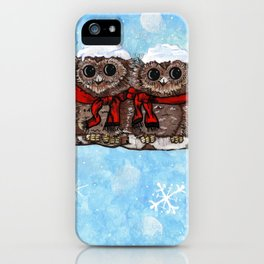 Snowy Owls iPhone Case