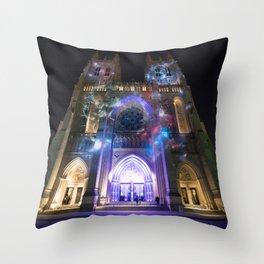 89. Spirit of Apollo - 50th Anniversary of Apollo 8 at the Washington National Cathedral Throw Pillow