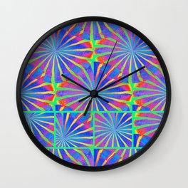 Icecream Parfait 2 Wall Clock