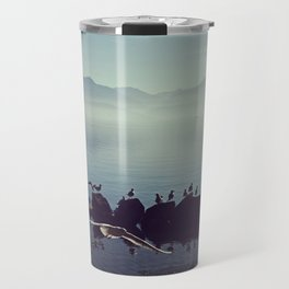 Misty morning in Annecy, France - Fine Arts Travel Photography Travel Mug