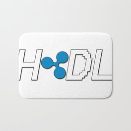 HODL Ripple Bath Mat