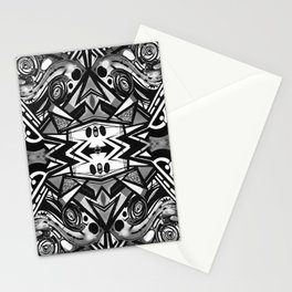 "Future funk Pattern ""symeric"" Stationery Cards"