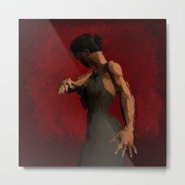 Flamenco Passion Metal Print
