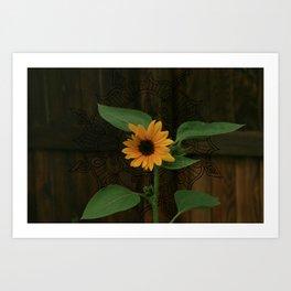 Sunfloral Celebration Art Print