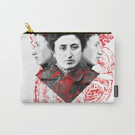 Rosa Rubra Carry-All Pouch