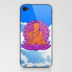 Peace Buddha in the Sky iPhone & iPod Skin