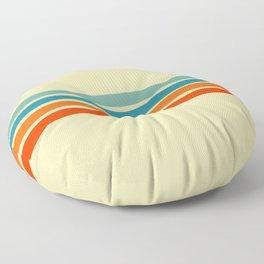 Ienao - Classic 70s Retro Stripes Floor Pillow
