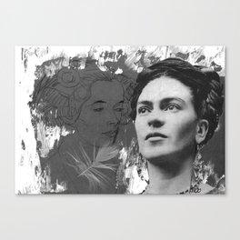 Tribute to Frida Kahlo #24 Canvas Print
