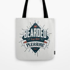 BEARDED FOR HER PLEASURE Tote Bag