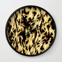 Animals passing by Wall Clock