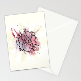 i think i saw you in my sleep - la dispute  Stationery Cards