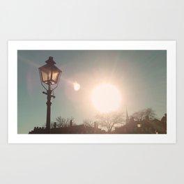 The Sun Stays the Same Art Print