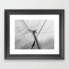 Utility Framed Art Print