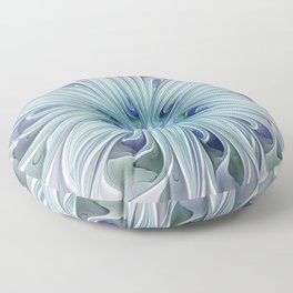 Another Floral Beauty Floor Pillow