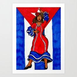 La Bayamesa Art Print