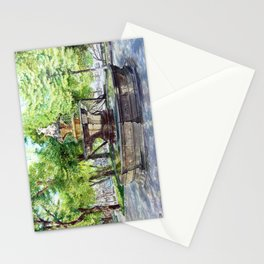 Old Fountain at Split, Croatia Stationery Cards