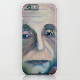 Albert Einstein, Original painting by Lu iPhone Case