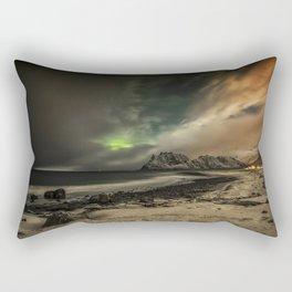 Beach Nightscape Rectangular Pillow