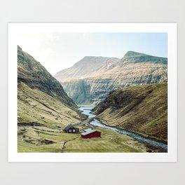 Faroe Islands 35mm #3 Art Print
