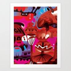 Brain on Love Art Print