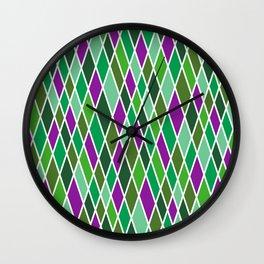 Court-Jester 4 Wall Clock
