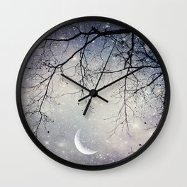 Diamonds in the Sky Wall Clock