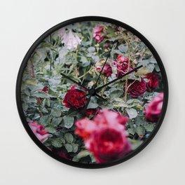 Roses really smell like... Wall Clock