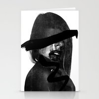 scream Stationery Cards featuring Scream  by Benson Koo