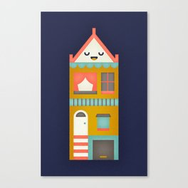 San Francisco Home Canvas Print