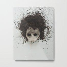 Tea-Head Metal Print