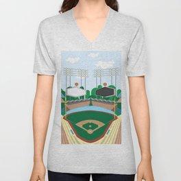Dodger Stadium Unisex V-Neck