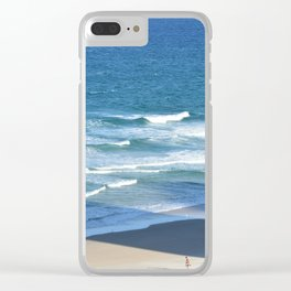 Surf at Surfers Paradise Clear iPhone Case