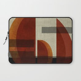 """""""Abstract Ships at Sunset"""" Laptop Sleeve"""