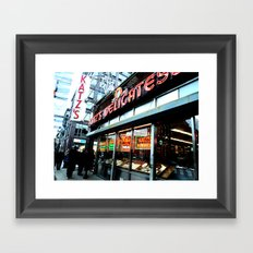 Katz's Deli Framed Art Print