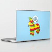 rasta Laptop & iPad Skins featuring Rasta pinata by Dmitriylo