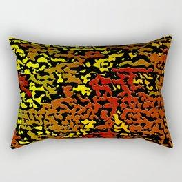 Erasure Minor Rectangular Pillow