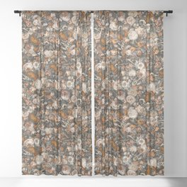 Baroque Macabre Sheer Curtain