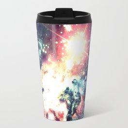 Fox Fur Nebula : Deep Pastels Galaxy Travel Mug