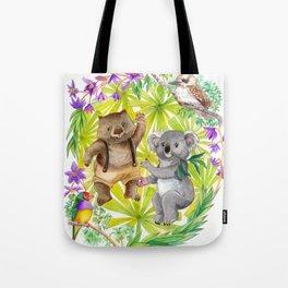 Australian Animals Party Tote Bag