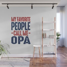 Gift for Opa Wall Mural