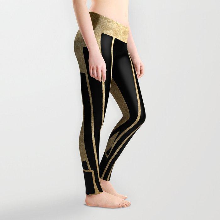 Art deco design Leggings