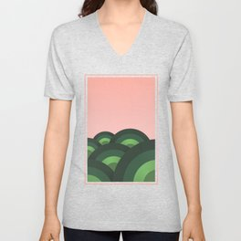 Foothills Fresh Nature 70s Unisex V-Neck