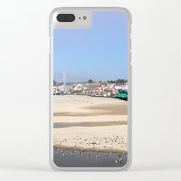 Summer dreaming Clear iPhone Case