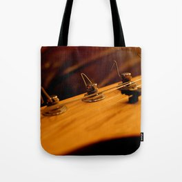 Guitar Tuners Tote Bag