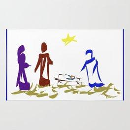 A King is Born in Bethlehem DP150903b Rug