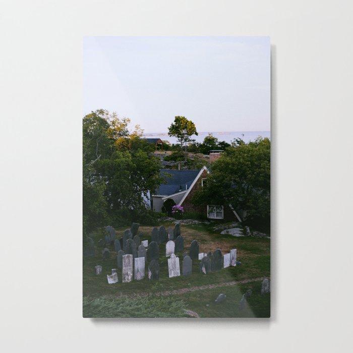 Old Burial Hill; Marblehead, MA Metal Print