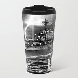Amphibious assault ship Peleliu Travel Mug