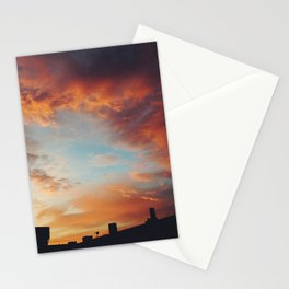 Industrial Sunset  Stationery Cards