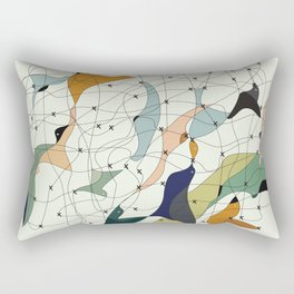 Chained birds Rectangular Pillow